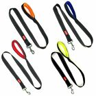 DOG LEAD LEASH NYLON REFLECTIVE STRONG WITH PADDED HANDLE