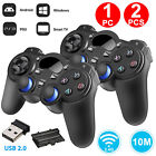 1/2x Wireless Game Controller Gamepad for PS3/PC/XBOX360/Android TV Box Tablets