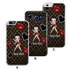 Betty Boop Classy Red Lady Kiss Plastic/ TPU Phone Case Cover £4.49 GBP on eBay