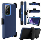 For Samsung Galaxy S20 Plus Ultra Defender Case Cover With Belt Clip Kickstand
