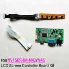 Fit NV156FHM-N42/N46 LCD panel 1920x1080 EDP-30 pin display controller board kit