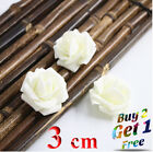 200 Foam Mini Roses WHOLESALE Heads Buds Small Flowers Wedding Home Partys UK