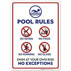 Pool Rules Sign. Pool Sign $12.99 USD on eBay