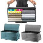 Foldable Storage Bag Clothes Blanket Sweater Quilt Storage Box Organizer