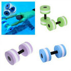 Water Aerobics Dumbbell EVA Aquatic Barbell Fitness Aqua Pool Swimming Exercise image