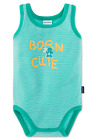 """Schiesser Baby Body Without Sleeve """" Born Cute Size 68 74 80 86 92 98 104 Bodies"""