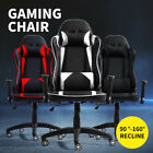 Levede Gaming Chair Office Seating Racing Computer Pu Leather Executive  Chairs