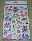 Unicorn Sticker Packs Foil Holographic Dimensional Googly Eyes You Choose New