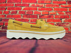 Womens Timberland Harper Cove A26UX Tan Leather Slip On Boat Casual Shoes