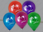 "Unique 16"" Riesenluftballons - Kristallfarben - Aufdruck 'I love you!' - balloon"