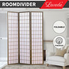 Levede Room Divider Screen 3/4/6/8 Panel Privacy Wooden Dividers Timber St