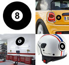 Pool Ball Sticker Vinyl Cut. Black Ball. Sticker Vinyl Ball Snooker No. 8 $2.14 USD on eBay