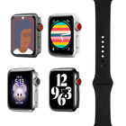 Apple Watch Series 3 - 38mm/42mm - All Case Colors - Black Sport Band - GPS+4G