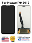 Fit For Huawei Y9 2019 JKM-LX1丨JKM-LX2丨JKM-LX3 LCD Touch Screen Digitizer ±Frame