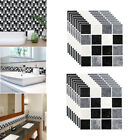 Mosaic Sticker Kitchen Tile Stickers Bathroom Self-adhesive Wall Decor Diy Home
