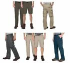 NEW  BC Clothing Mens Lightweight Convertible Stretch Cargo Pants Shorts