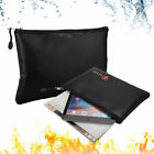 Fireproof Water Resistant Money Bag Envelope Safe Document Bag File Pouch Case
