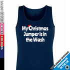 Ladies Christmas Jumper In The Wash Vest • Tank Top Girls Funny Top Outfit Lady