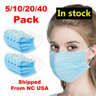 (5/10/20/40) Pack - 3PLY Face Mask Medical Surgical Dental Medical Respiratory