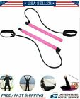 Pilates Bar Kit Resistance Band Exercise Stick Toning Yoga Gym Portable Fitness image