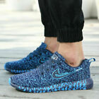 Mens Slip On Breathable Casual Walking Running Gym Sport Trainers Shoes UK Size