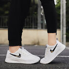 Mens Slip On Breathable Casual Walking Running Gym Mesh Sport Trainers Shoes UK