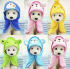 Pet Cat Dog Animal Cartoon Design Towel Bath Robe Dressing Gown Pajamas 5 Colors