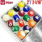 Pool Balls Set for Pool Billiards Snooker 2 Inch & 2-1/16 Available AU $30.95 AUD on eBay