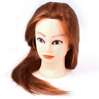 Professional Manequin head Human Hair Barber Practice Hairstyle Hairdresser C 'i