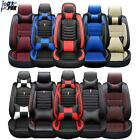 Universal PU Leather Car Sit Covers Car Accessories Front Rear 5Seat Cushion Set $81.37 USD on eBay
