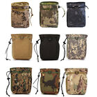 Outdoor Hunting Tactical Magazine Dump Drop Pouch Recycle Waist Pack Ammo Bags