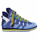 Dolce & Gabbana Runway High-Top Sneakers Trainers Mix & Match Blue 04641