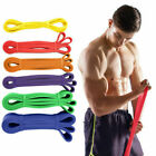Strong Resistance Bands Loop Heavy Duty Exercise Sport Fitness Gym Yoga Latex US image