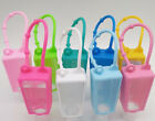 6 Pack Silicon Carrying Holder Case For Mini 1oz Hand Sanitation Bottle Us Stock