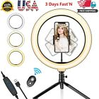 Kyпить Crenova Ring Light Kit Dimmable LED Live Streaming Selfie For Youtube Video на еВаy.соm