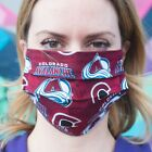Colorado Avalanche 100% Cotton Washable Handmade Adult Face Mask $14.99 USD on eBay