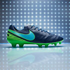 $210 New Nike Tiempo Legend VI FG Soccer Cleats Leather Boots ACC Blue-Green Szs