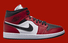 Air Jordan 1 Mid Chicago Black Toe - Brand New and Authentic