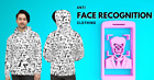 Anti face-recognition pattern - Unisex Hoodie
