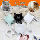 Non-slip Cat Pet Food Water Feeder Bowl Feeding Dish Elevated Raised Stand Bowls