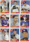 TAMPA BAY RAYS - PICK YOUR MLB-LICENSED TOPPS/BOWMAN TEAM SET 2012-2020