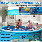 ChildFamily Swimming Pool Garden Outdoor Summer Inflatable Kids Paddling Pool