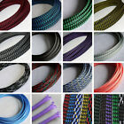 4/8/12mm PP Cotton PET Expandable Braided Sleeving Sheath Cable Wire DIY Modding