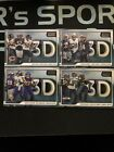 2020 Score Football 3D Inserts!!! Complete Your Set!! You Pick!!! $1.5 USD on eBay