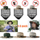 Women Men Hat Anti-Mosquito Bugs Bee Insect Net For Fishing Hiking Beekeeping