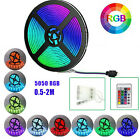Led Strip Lights Rgb Colour Changing Lighting With Remote Home Tv Kitchen Decor