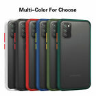 For Samsung Galaxy S20 S10+ S9 Note 10 9 8 Case Matte Slim Silicone Hard Cover