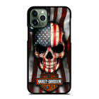 SKULL HARLEY DAVIDSON USA FLAG For iPhone 6/6S 7 8 X/XS Max XR 11 Pro Phone Case $22.9 CAD on eBay