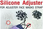 24/48/100/500/1,000 PIECES - Round Silicone Stopper Adjuster Face Mask Sewing