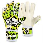 New Football Professional Children Goal keeper Gloves Fingers Protection Latex